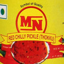 Red chilly thokku