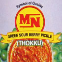 Green Sour berry thokku
